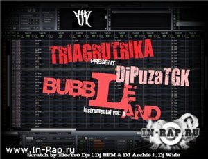 DJ Puza (TGK) - BubbleLand Instrumental Vol.1 (2010)