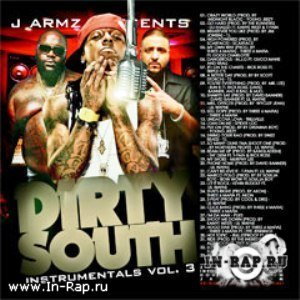 J. Armz - Dirty South Instrumentals Vol 3
