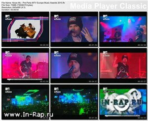 Noize Mc - Pre-Party MTV Europe Musiс Awards 2010